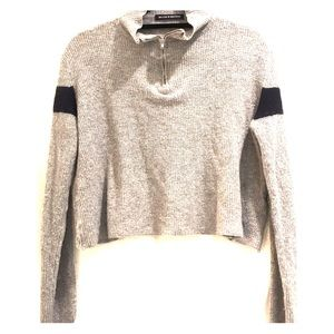 Brandy Melville Sweater size M grey and navy